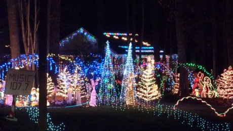 best places to see lit christmas lights in wake forest